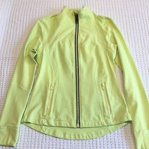 Lululemon Citron Define Jacket size 8